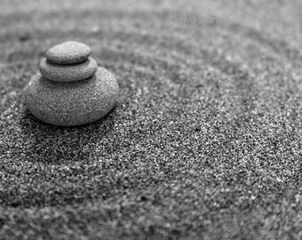 "Yoga Room Decor, Zen Style, Zen Decor, Digital Downloads, Meditation, Mindfulness Art, Inspirational Quote, Zen Decor ""Zen Balance"""