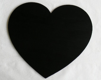 Wooden Heart Chalkboard - Large Wedding Chalk Sign - Photography Prop for Parties, Birthdays, Weddings