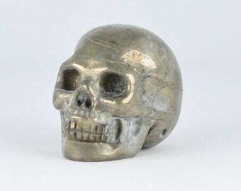 Iron Pyrite Crystal Skull!