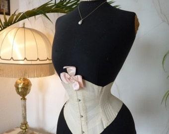 ROYAL WORCHESTER Corset, antique Corset, Victorian Corset, corset ancienne, ca. 1895
