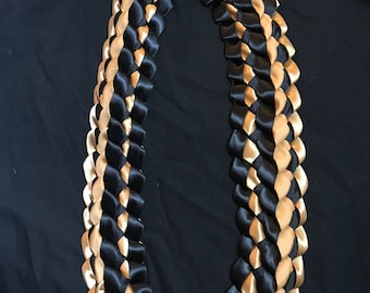 Double braided ribbon graduation lei!!