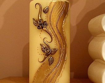 Candle - handmade