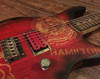First Responder Custom Guitar by GuitarSmithCustoms.com
