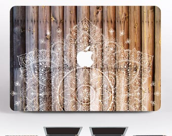 Mandala MacBook 15 MacBook Pro Skin MacBook Air 13 Decal Laptop Cover Marble Case 12 MacBook Wood Pro Retina 13 Sleeve MacBook Air DR3111