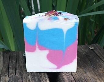 Rose Quartz Shampoo, Coconut Milk and Aloe Shampoo, Natural Shampoo, Handmade Shampoo