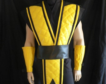 Mortal Kombat Costume Scorpion, Cosplay, Custom Made to Order