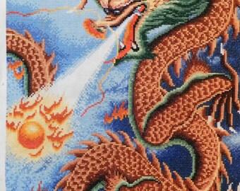 Cross Stitch Chinese Dragon