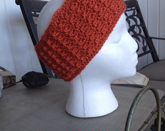 Rust color Earwarmer