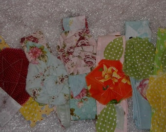 Shabby Flower Headbands cotton fabric  Variety of colors Adult and Children
