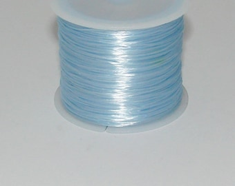 5 m elastic blue 0.8 mm thick