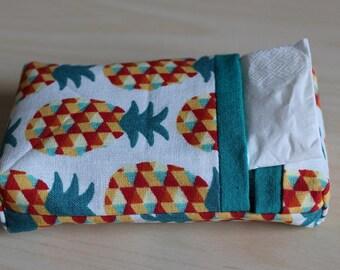 Pocket squares - pineapple pattern case