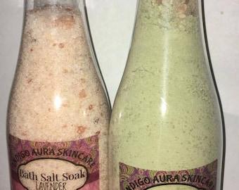 Bath Salt Soak Champagne Duo
