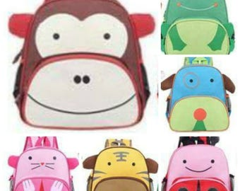 Personalized/ Toddler Pre K animal backpack