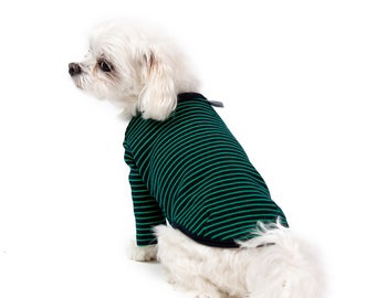 Stripe T-Shirt – Green : NY-T29