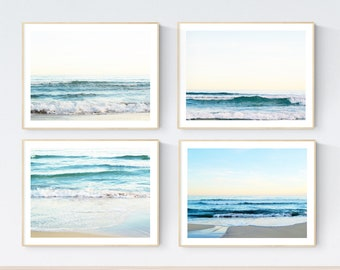 original photography sea  abstract painting nice art print by Jolina Anthony