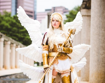 Sakizo Seraphim ArchAngel Cosplay Costume