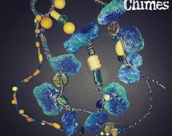 Blue Driftwood Ocean Chime