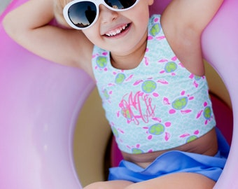 toddler personalized bathing suit