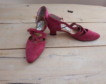 vintage heels - high heels  - pumps shoes -  formal shoes - vintage high heels