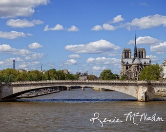 Paris print, Paris landscape, French photography, French decor, large wall art, panoramic print, colorful home decor, office art, travel art