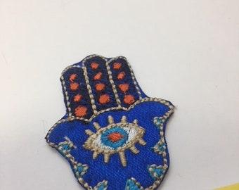 fatima hand embroidery mini patch