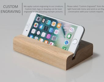 iPhone docking, iPhone charging station, Gift for him, Gift for her, Birthday gift, Father's gift, Valentine's day, Personalized gift