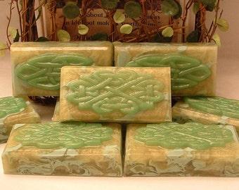 Cedar and Saffron Soap