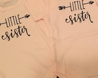 Little Sister Vest on Pink