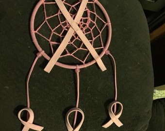 Breast Cancer Support Dreamcatcher