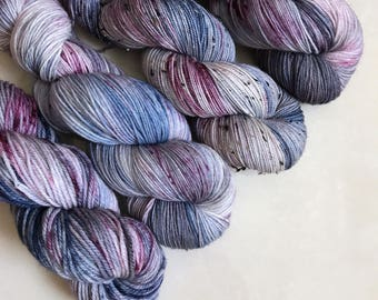 Solo Fingering 'Mystic' Hand Dyed Yarn