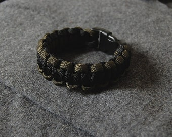 Two color - Paracord bracelet - Solomon Cobra - Fastex