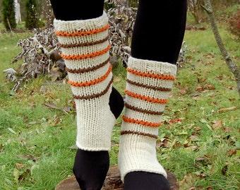 Hand Knit Yoga Socks,  Dance Socks,Toe-less Socks,  Knitted Spats,  Flip Flop Socks, Piyo Socks, Yoga Wear, Pedicure socks, Christmas Gift