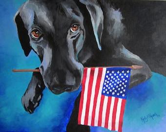 Dog Bless the USA