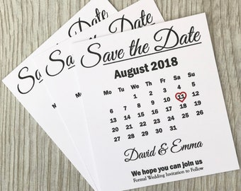 50 Personalised Wedding Save the date Cards With Envelopes in White Vintage Rustic Style prior to invitations custom