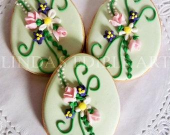 Easter Bouquet Cookie 1 Dozen (12)