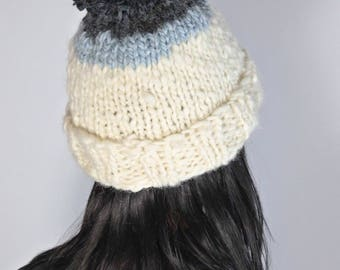 The Double Dipped Pom Hat