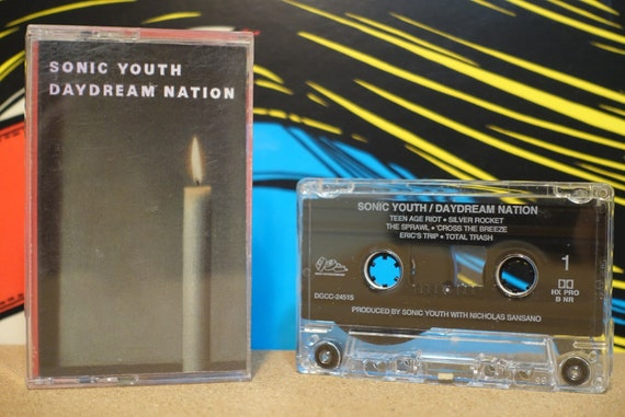 Daydream Nation by Sonic Youth Vintage Cassette Tape