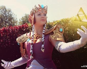 Princess Zelda pauldrons armor