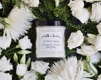le petit jardin - soy and essential oil candle