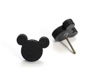 Mickey Mouse Earrings, Disney Earrings, Mickey Stud Earrings, Mickey Jewelry, Mickey Mouse Jewelry, Mickey Earrings Stud, Disney Jewelry