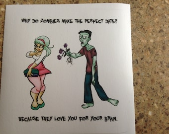 Zombie Love - sticker