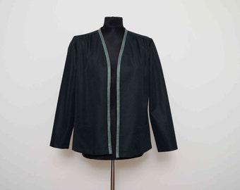 Norman Linton Black Jacket UK 12