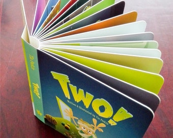 "Signed copy of ""Two!"" Board book"