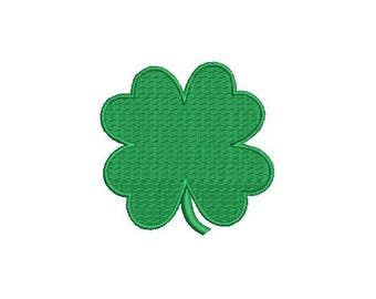 30 Sizes Shamrock Saint Patrick's Day Leaf Clover Design Fill Design Embroidery Machine Instant Download EN2206F1A
