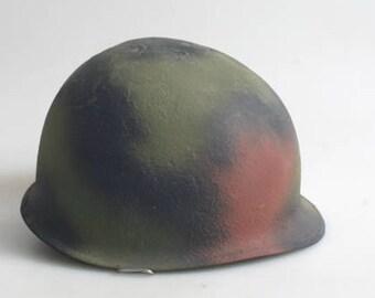 World War II Helmet//Props//Camouflage