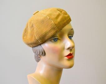 1940s Corduroy Cap