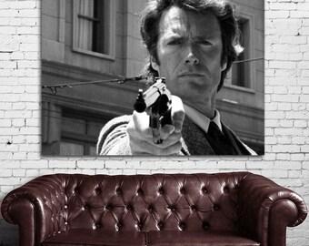 02 Clint Eastwood Dirty Harry Print