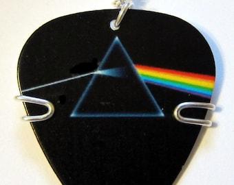 Pink Floyd Dark Side of the Moon Guitar Pick Charm