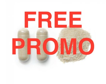 FREE PROMO OFFER Ashwagandha pure Capsules (indian ginseng) Natural 500 mg
