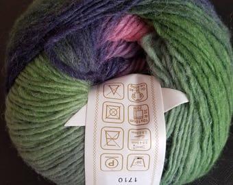 Rainbow Wool Yarn - Color 7,  50g